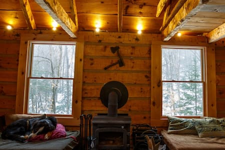 Off the grid log cabin in 100 acres (CITQ 298058)