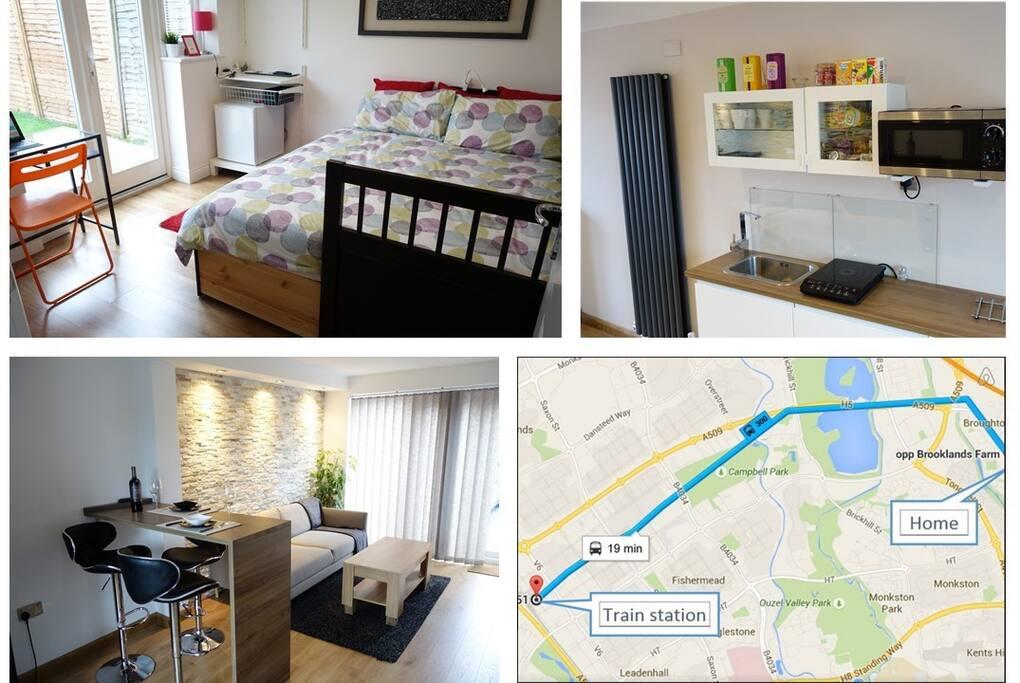 Ground Floor Exclusive Guests Breakfast Incl Room2 Houses For Rent In Milton Keynes Bucks