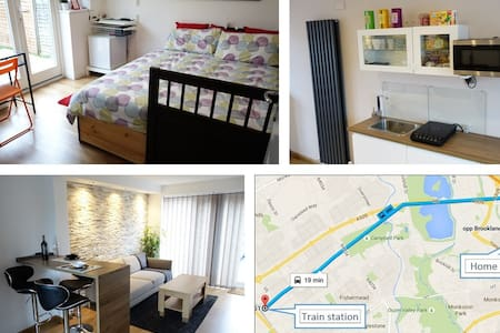 Lovely, clean room with breakfast - Milton Keynes - Huis