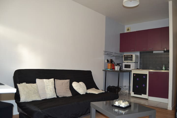 Cosy flat in city centre - Valenciennes - Leilighet