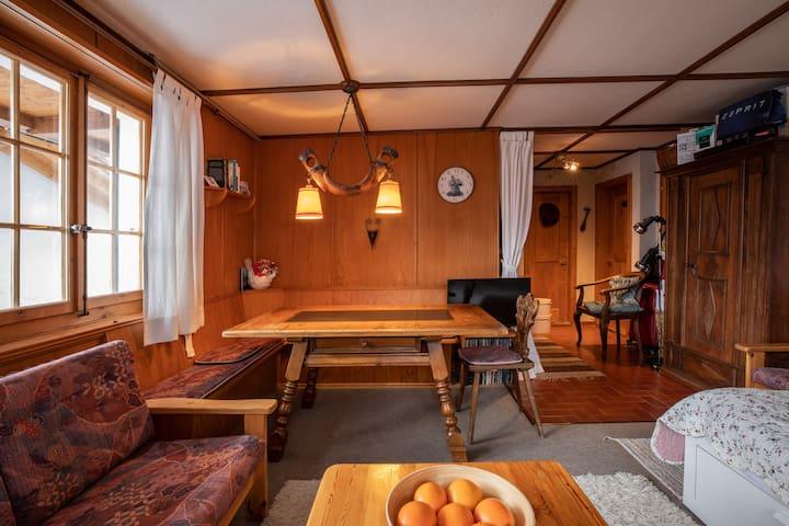 Wohnung in Chalet nahe Ortszentrum in Adelboden