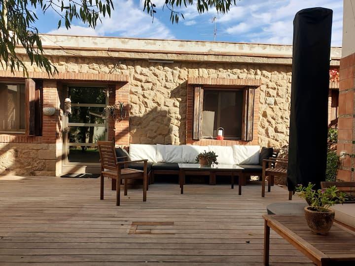 Casa tranquila cerca de Barcelona, Airport y playa