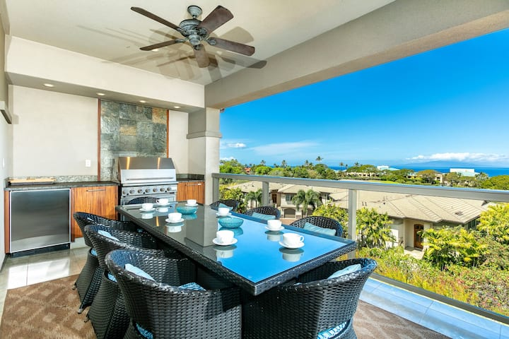 Magical ocean view! Secluded Villa! Ho'olei 17-3