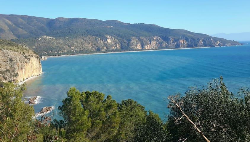 Centola Wohnung mit Aussicht nähe Amalfi Küste