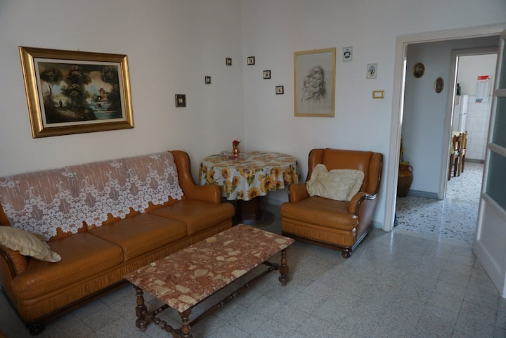 Typical Italian flat in a little town in Apulia