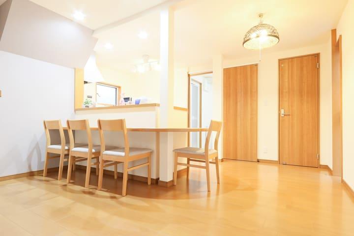 MAX 10ppl!Huge House close to Peace Park +WIFI#5T5 - Naka-ku, Hiroshima-shi - Dům