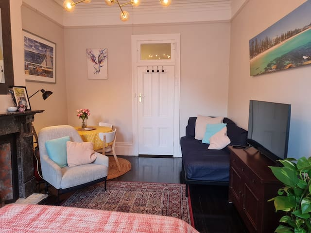 Lots of space in your private room