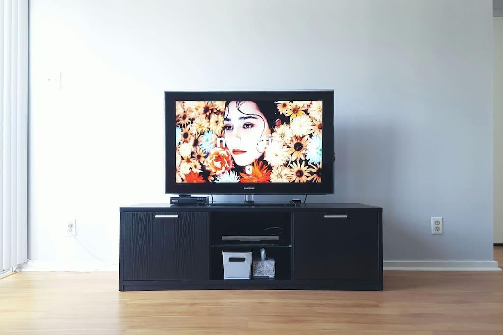 HDTV / Chrome Cast / HD Cable service