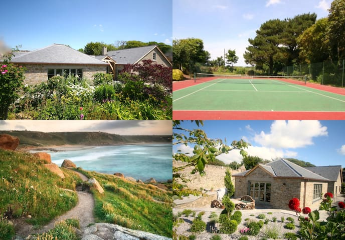 3bd/8per 5* Cottage by Sea Tennis/Spa/SKY/Dogs