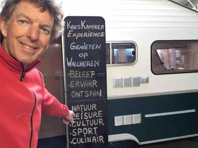 Compleet ingerichte caravan met  kust experiences