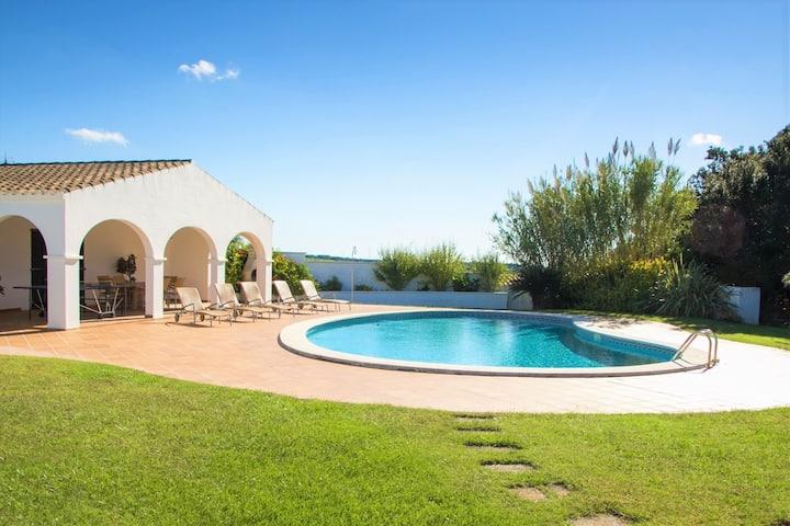 -%%% Finca Calafi Nou ❤️ pure Menorca dream with private pool