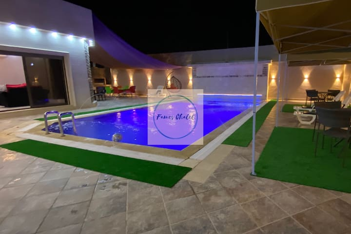 Pool & Fun near the Dead Sea, Fame Chalet