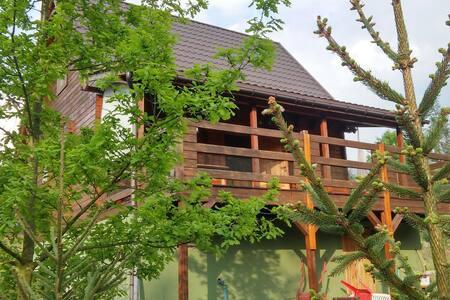 "Domek ""ZoHa""/ Wooden house ""ZoHa"" - Lubochnia"