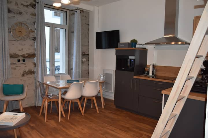 appartement avec balcon plein centre Cauterets