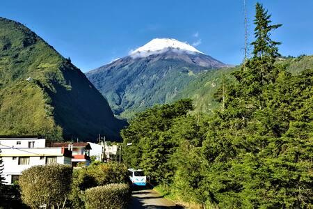 Departamento con Hermosa vista al Volcán