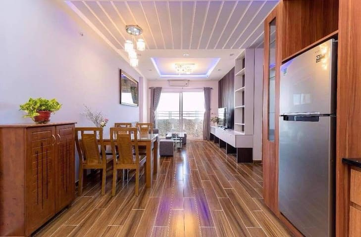 Muong Thanh apartment has 2 bedrooms.