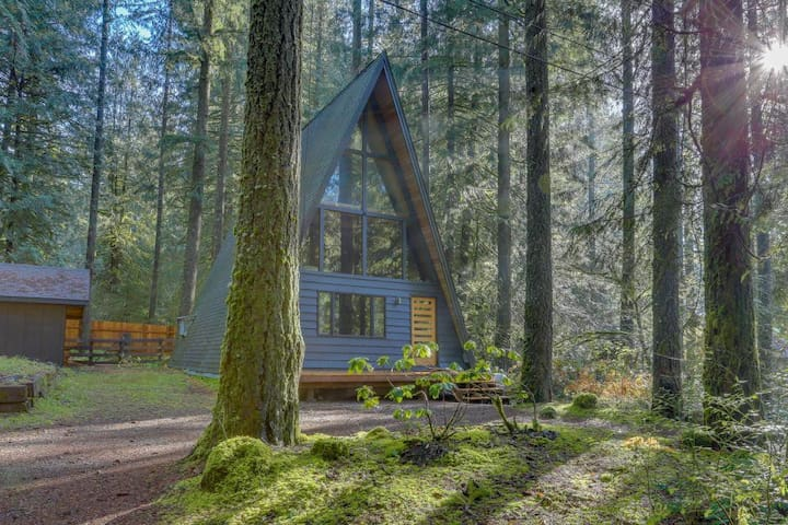 Rancho Relaxo - A Beautiful Mountain A-frame - Rhododendron - Hytte