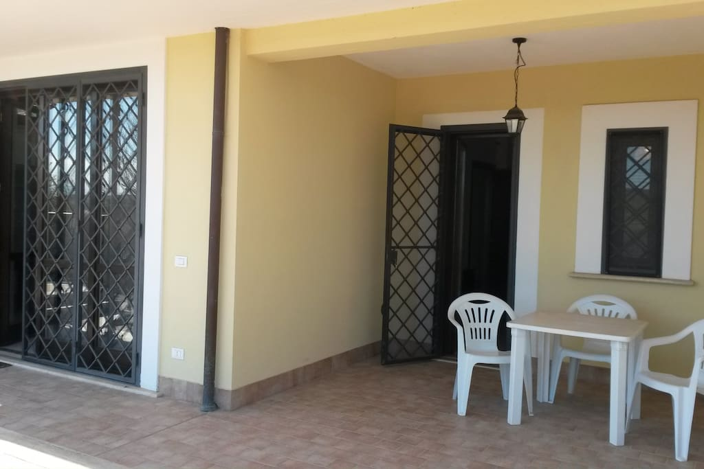 Indipendent entrance