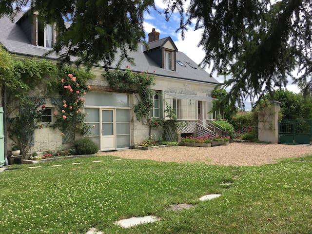 La Maison du Saule:Gîte*** Zoo Beauval Chenonceau