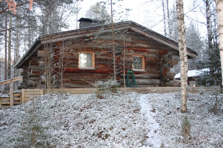 Ambient logcabin by the river - Rovaniemi - Chalé