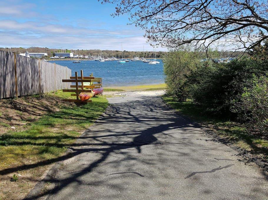 Footpath to the beach