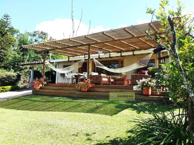 Finca campestre en el mejor sitio de Llanogrande - Rionegro - Houten huisje