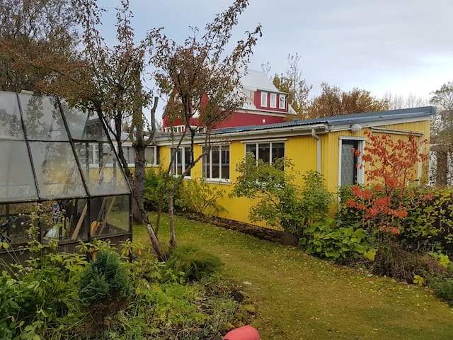 Reykjavík,  Cozy little Yellow House