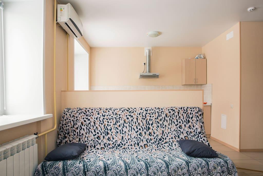 Диван-кровать 1,4 x 2,0 м