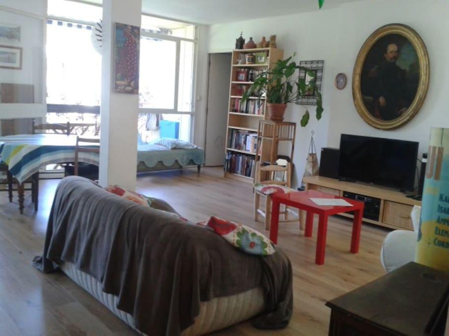 Une pièce spacieuse et fraiche