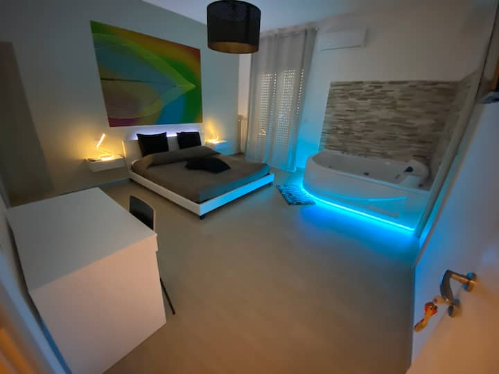 Mini Suite con Vasca Idromassaggio in Camera