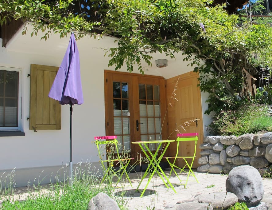 Eingang mit Terrasse / entrance with terrace