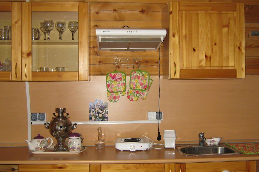 кухонный уголок на первом