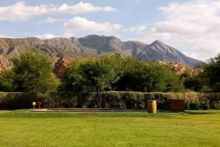 Cabaña1 en el medio de naturaleza Ciénaga de Huaco