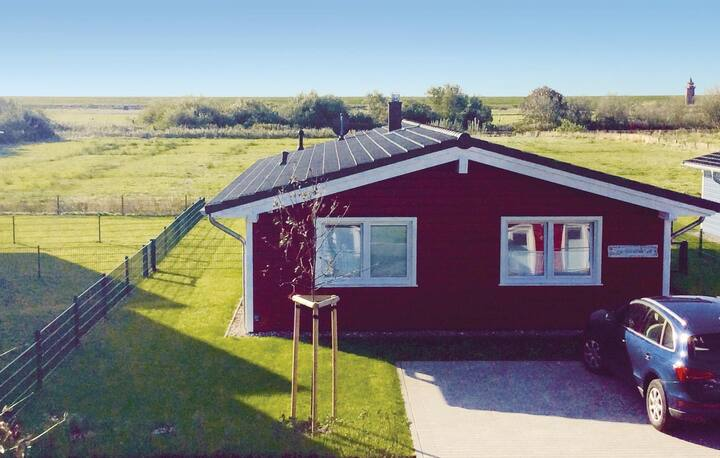 Awesome home in Dagebüll with Sauna and 2 Bedrooms