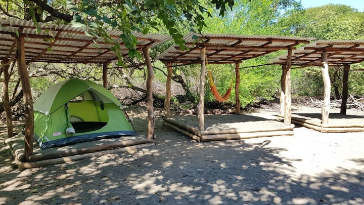 MEMANTA Camping on beachfront property