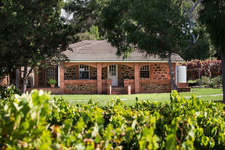 Historic home on 65 acres in top Barossa location