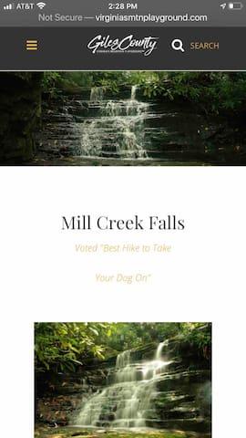 http://virginiasmtnplayground.com/mill-creek/