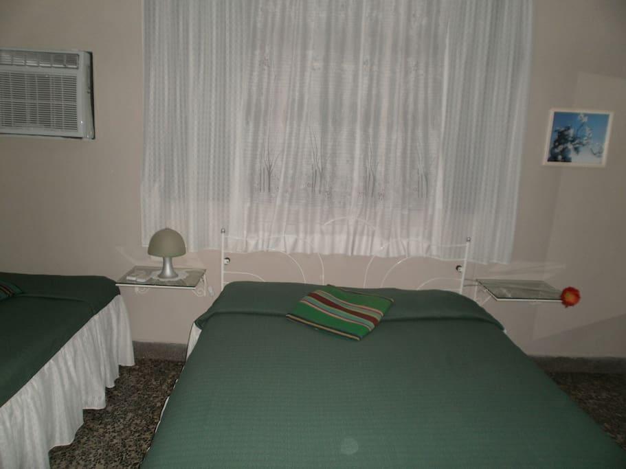 Confortable habitación.