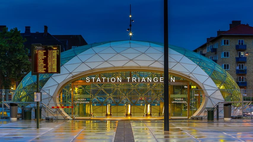 Triangeln metrostation