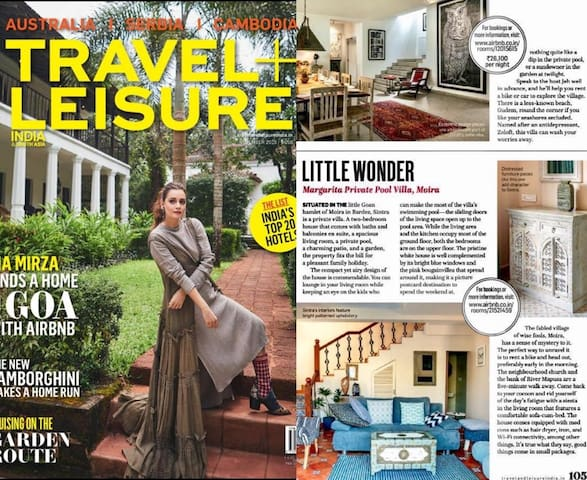 Our Little Wonder Featured in Travel and Leisure India With Airbnb