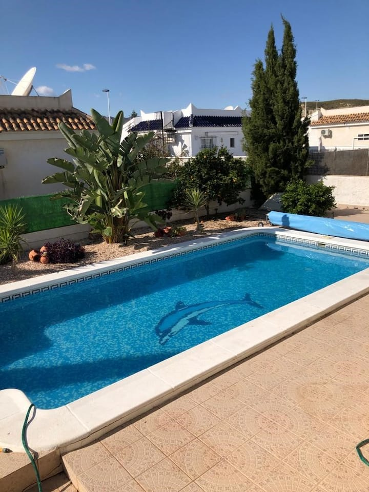 CO5: 2 bed, 2 bath villa with large private pool