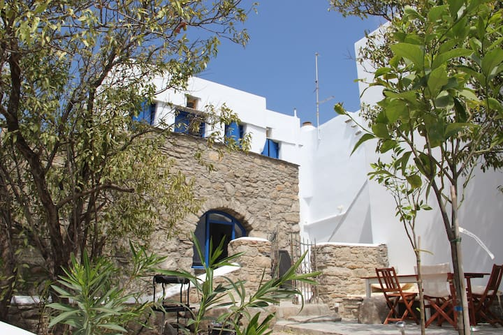 Maison traditionelle à Tinos, Cyclades - Tinos - Haus