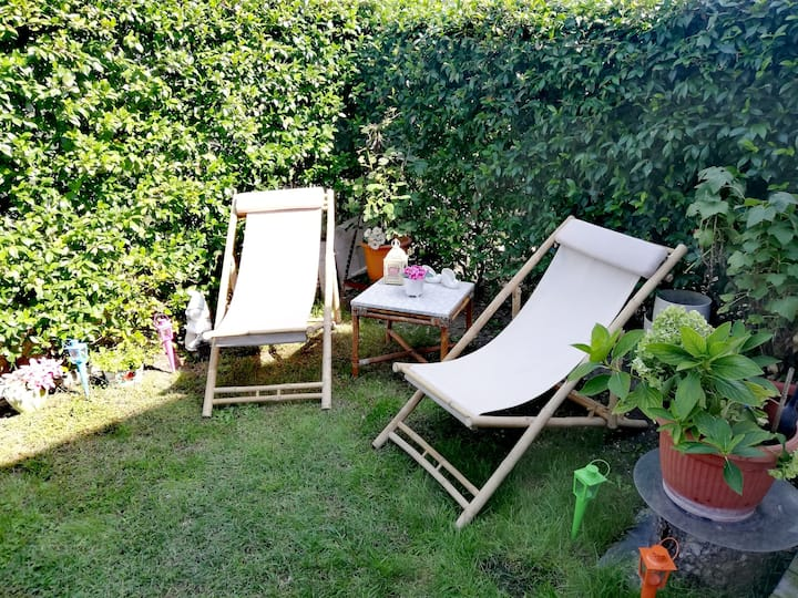 HOME WITH GARDEN 30 mt. TERME di COLA'