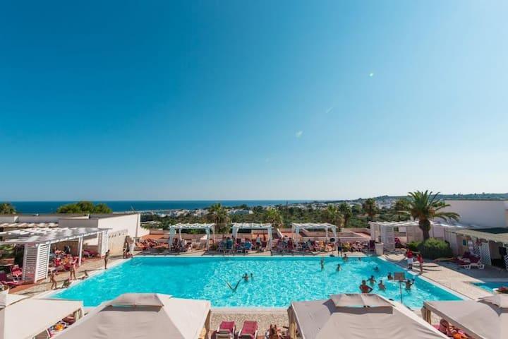 Villetta in Multiproprietà con piscina