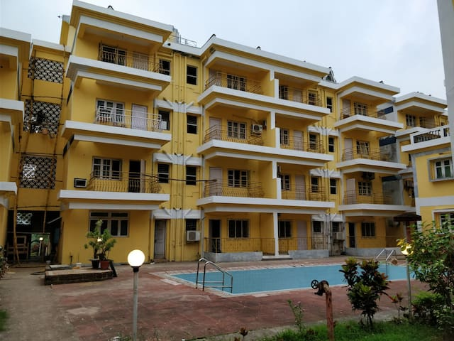 Cosy 2 BHK in the heart of Baga