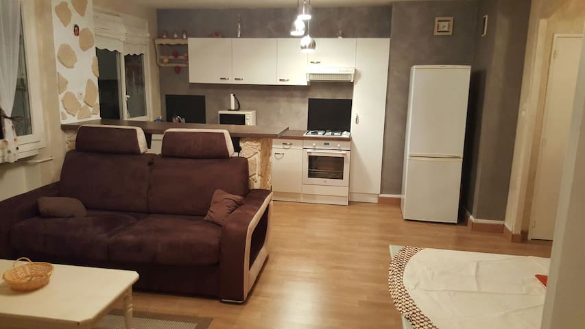 Appartement charmant  5 min de Lyon - Oullins