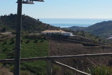 CASA DE CAMPO ALEJANDRA, - Cajiz - Blockhütte