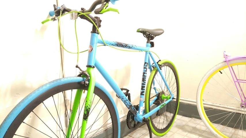 Forget Uber!, Rent our bike for $5 bucks per day and do exercise. Lock included!