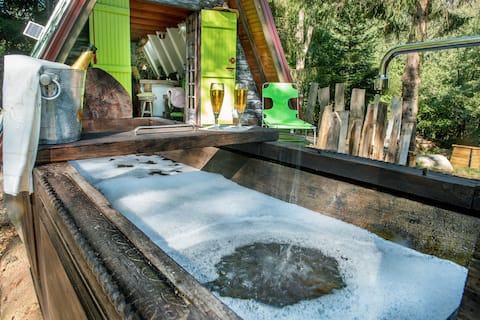 Ma cabane au bain de la source