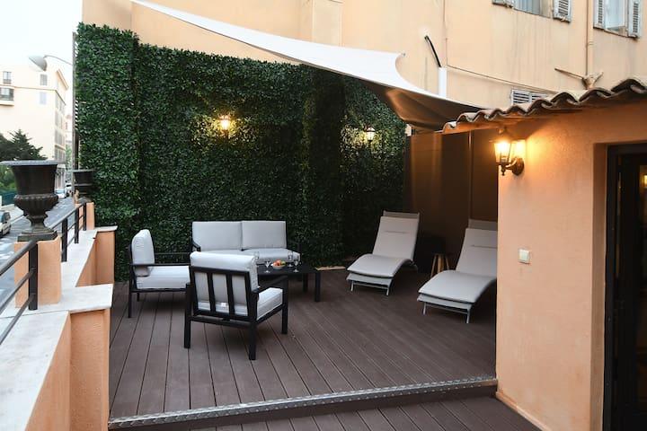 Wonderful 3 Rooms - Large Terrace - Massena Square
